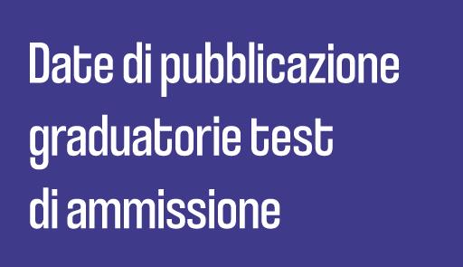 grafica immatricolazioni - Graduatorie test di ammissione