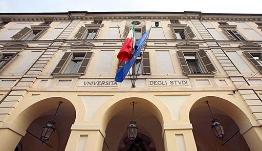 facciata esterna del Palazzo del Rettorato