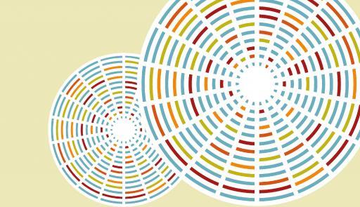 grafica colorata con titolo dell'evento
