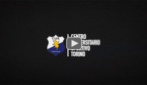 Logo CUS Torino su sfondo nero