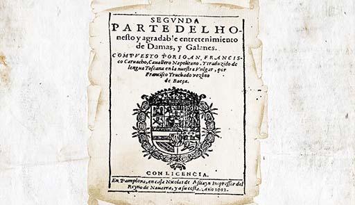 Pergamena con stemma
