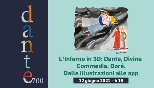 grafica Speciale Dante e titolo dell'evento