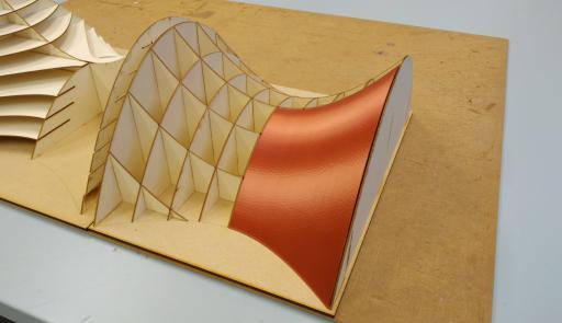 Modello di un progetto architettonico