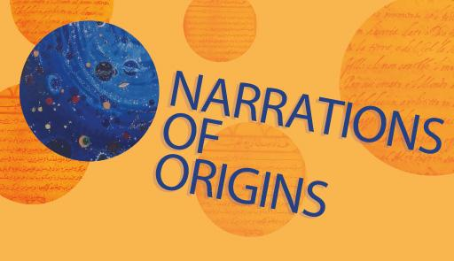 foto di un pianeta su sfondo colorato e titolo dell'evento