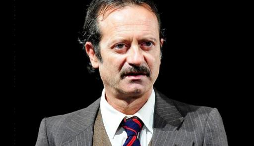 Rocco Papaleo nello spettacolo Peachum