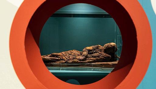 mummia del museo egizio di Torino dal nome: la giovane donna di Gebelein