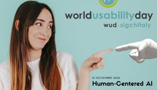 foto di una ragazza sorridente che tocca con un dito il dito di una mano robotica