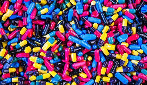 pillole colorate