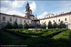 Interno cortilre dell'ex Caserma Podgora
