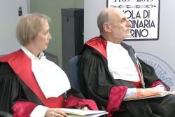 Cerimonia di conferimento della Laurea Honoris Causa a Emiliana Brocchi e Uriel Dan Kitron