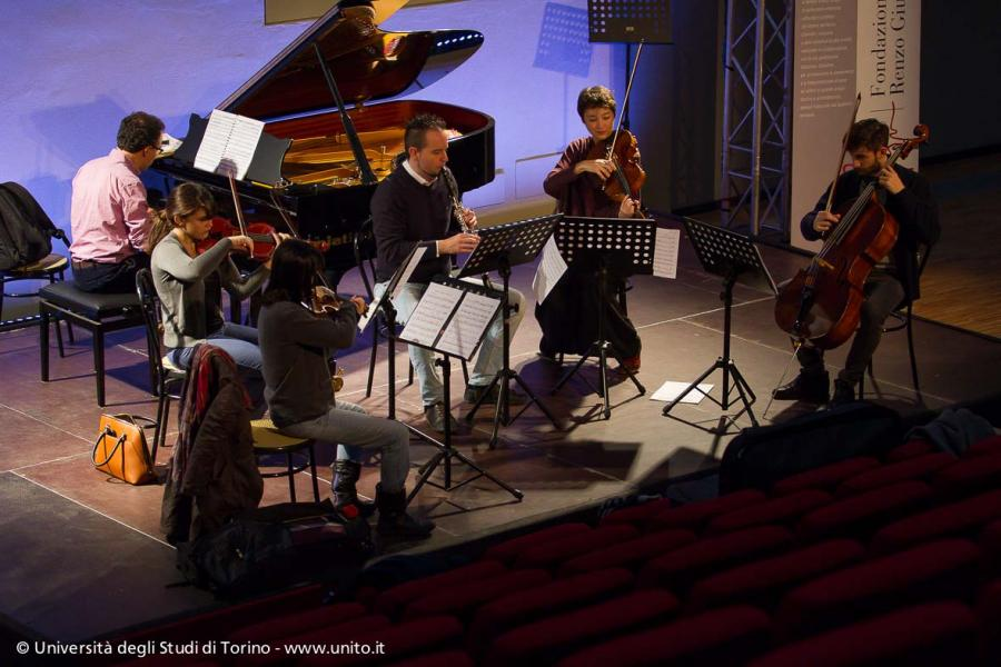 Prove orchestra e concerto della Fondazione Giubergia