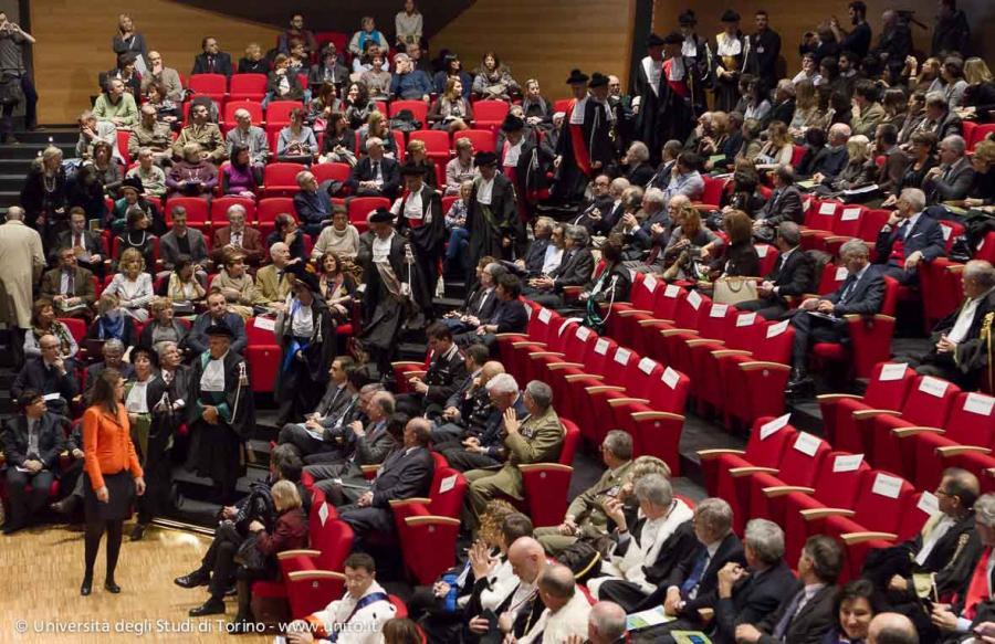 Pubblico in platea durante la Cerimonia di inaugurazione