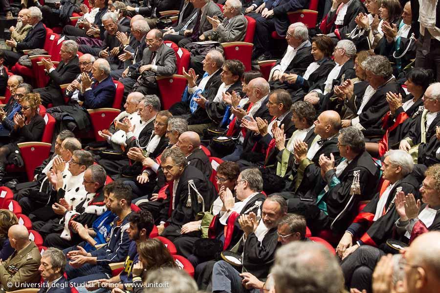 Inaugurazione a.a. 2015-2016 - Il pubblico al termine della Cerimonia