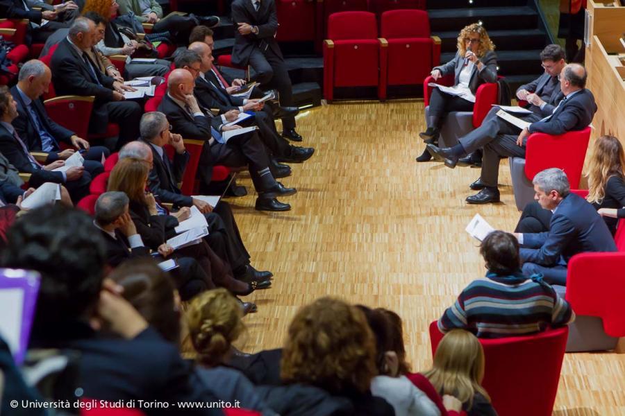Pubblico in sala durante il seminario Semplificazione: scelta necessaria per l'Università pubblica