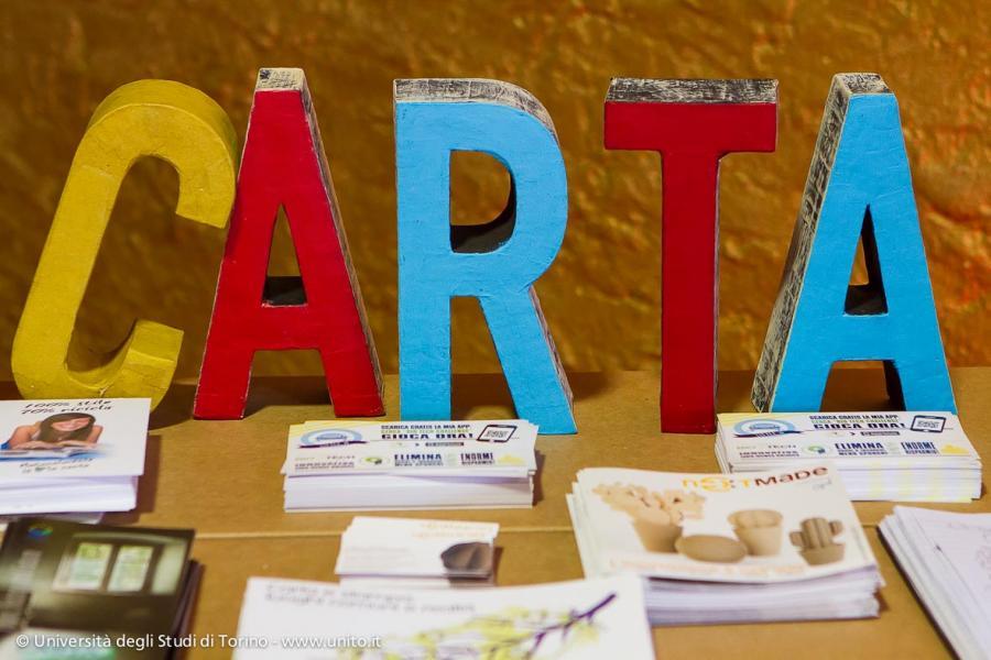Mostra Carta canta...durante le Settimane della Scienza