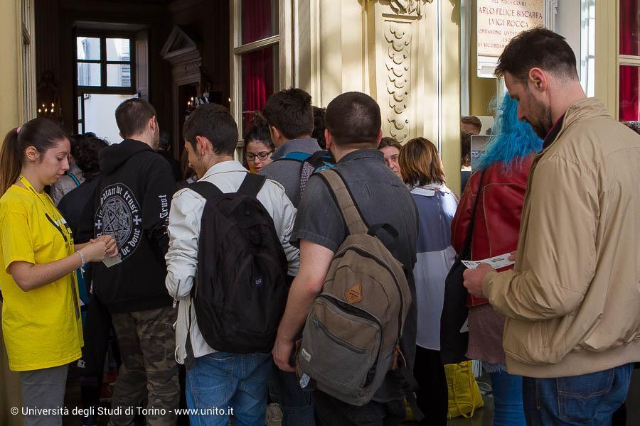 Ingresso a evento per Biennale Democrazia 2017