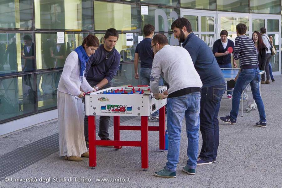 Campus Luigi Einaudi: studenti