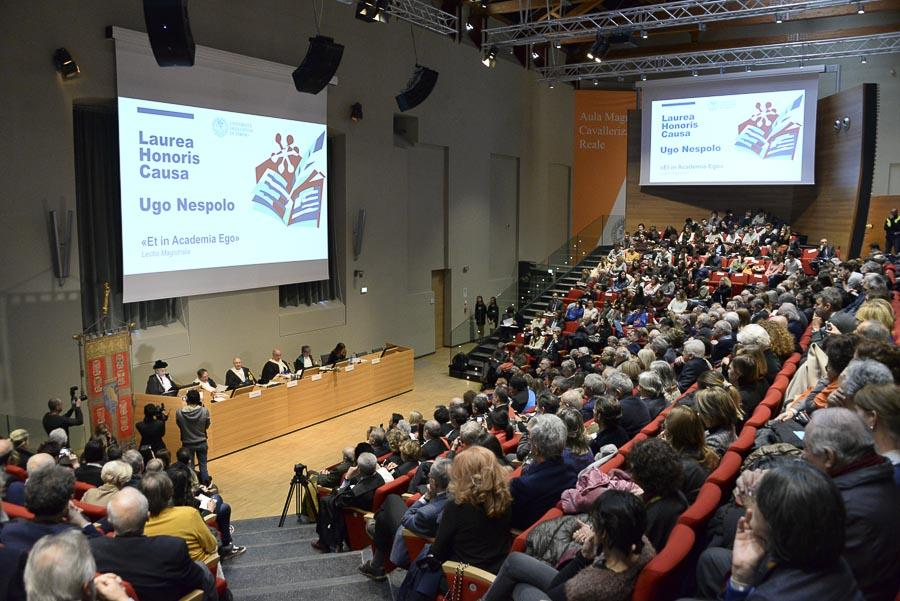 Panoramica dell'Aula Magna