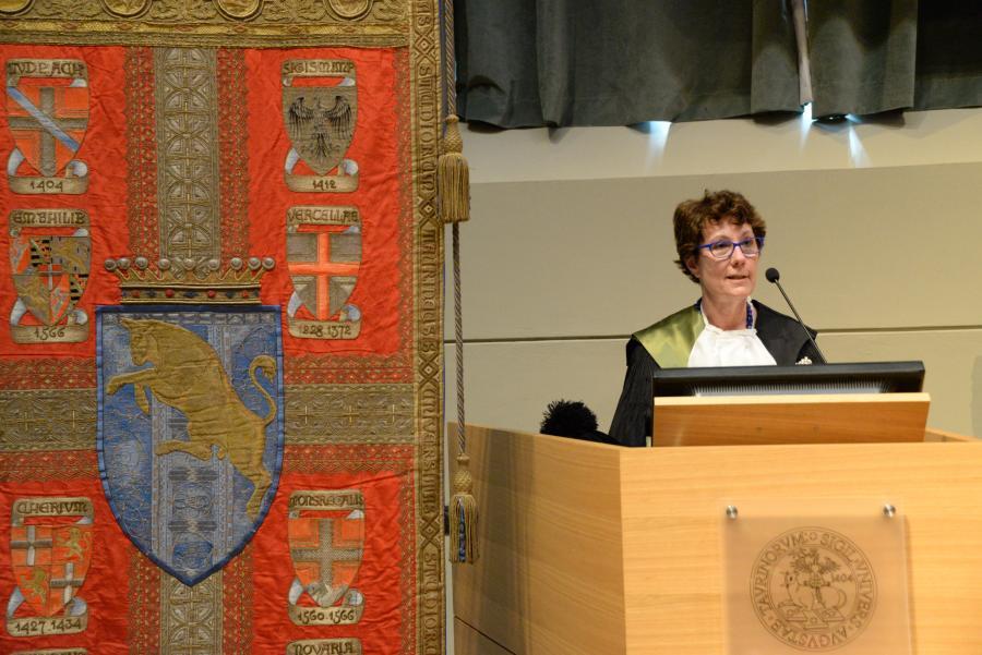 Prof.ssa Lorenza Operti, Vice-Rettrice per la didattica e l'internazionalizzazione