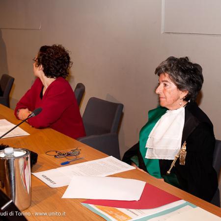 Inaugurazione anno accademico 2016-2017 - La Prorettrice Elisabetta Barberis