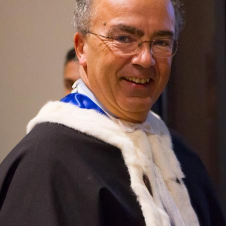 Rettore Ajani durante la Cerimonia di inaugurazione dell'anno accademico 2014-2015