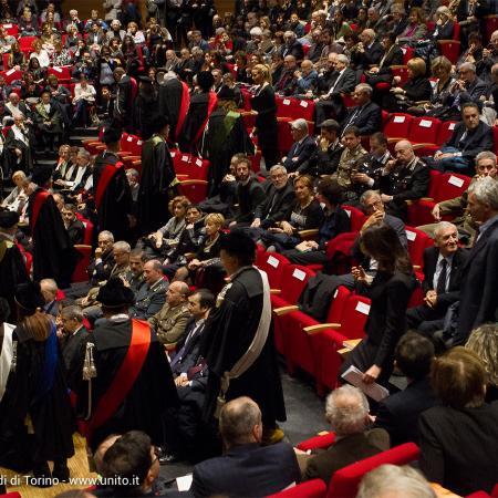 Inaugurazione anno accademico 2016-2017 - Panoramica dell'Aula Magna della Cavallerizza Reale