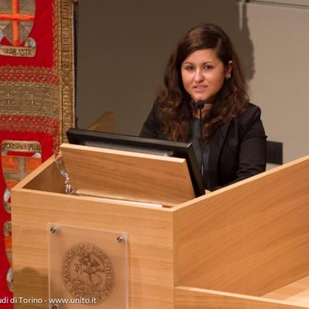 Discorso del Presidente del Consiglio degli Studenti Ilaria Manti