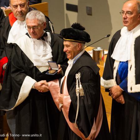 Inaugurazione anno accademico 2016-2017 - Consegna diplomi ai Professori Emeriti