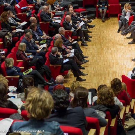 Pubblico in sala durante il seminario