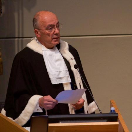 Inaugurazione anno accademico 2017-2018 - Rettore Gianmaria Ajani
