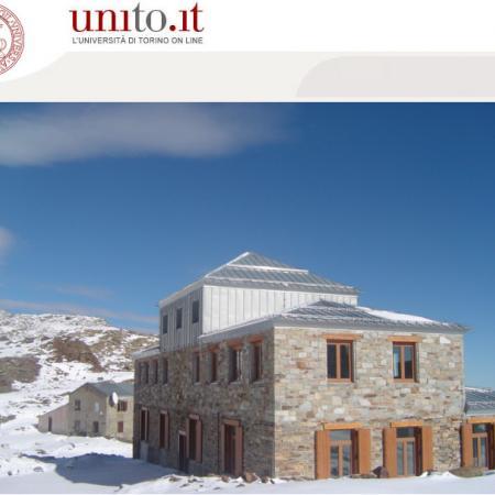 Ist. Mosso - L'istituto con l'osservatorio sullo sfondo
