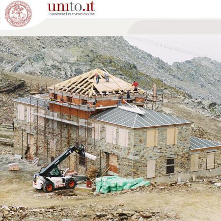 Ist. Mosso - Montaggio struttura tetto torretta