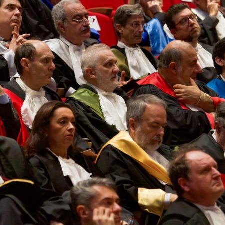 Inaugurazione anno accademico 2017-2018 - pubblico in aula