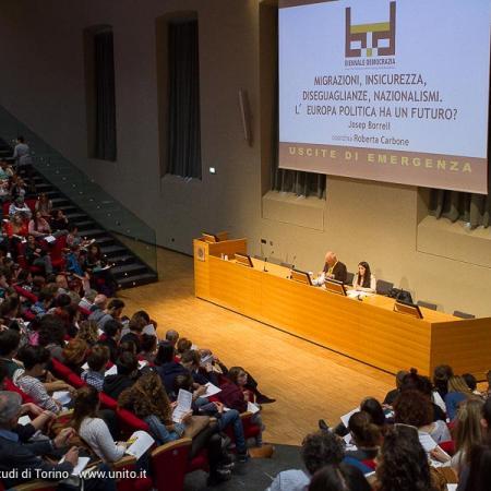 Intervento in Aula Magna per Biennale Democrazia 2017