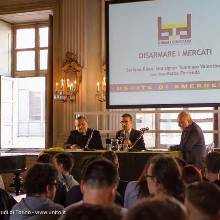 Pubblico per evento Biennale Democrazia 2017