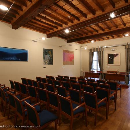 Aula all'interno di Palazzo Badini