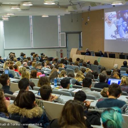 Un Convegno nell'Aula Magna del Campus Luigi Einaudi