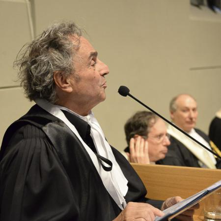 Laurea Honoris Causa Ugo Nespolo