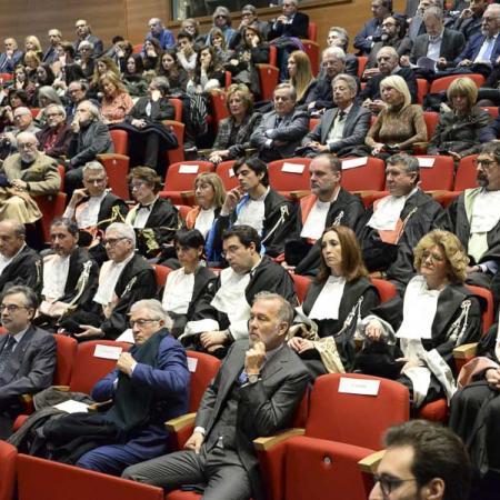 Pubblico presente alla cerimonia