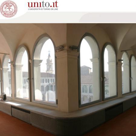 Savigliano - Particolare finestre loggiato