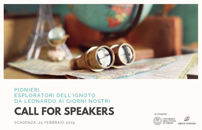 Pionieri - Call for speakers