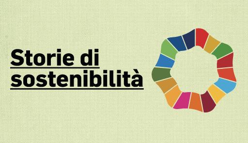 Grafica Storie di sostenibilità
