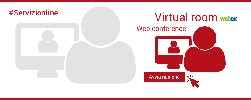 Virtual room for web conference