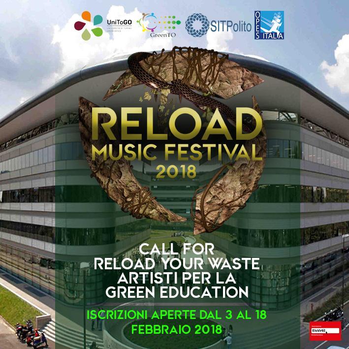 Locandina Call Reload Music Festival