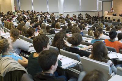 Studenti in aula lezione