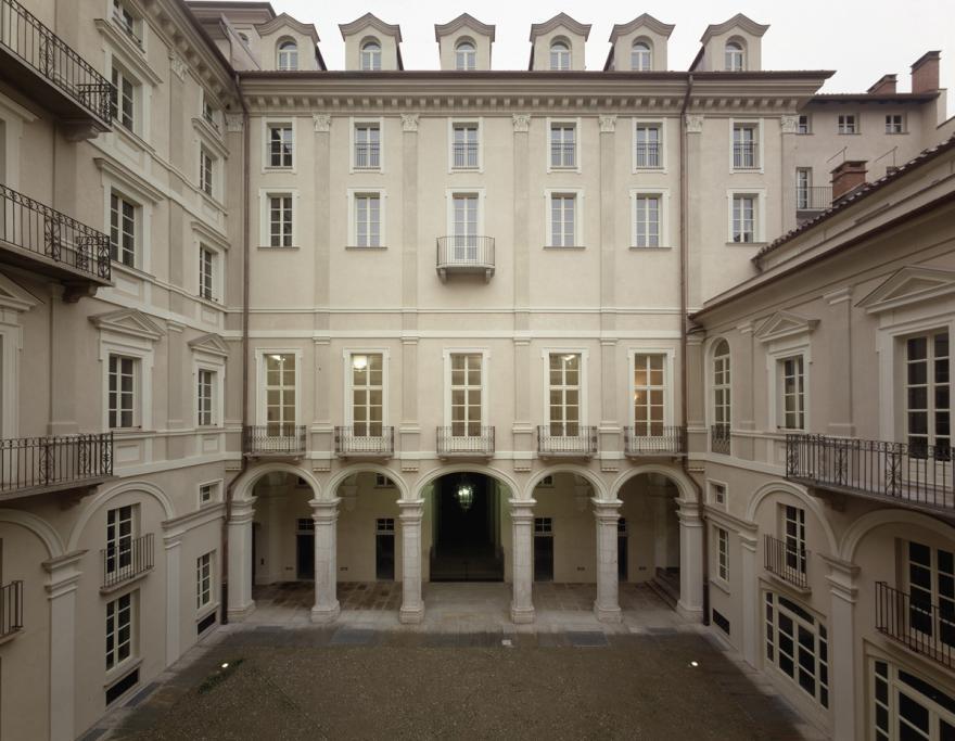 Facciata del palazzo storico Badini