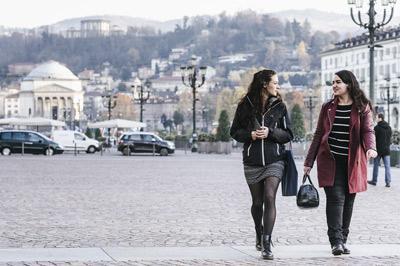 Studenti in piazza Vittorio