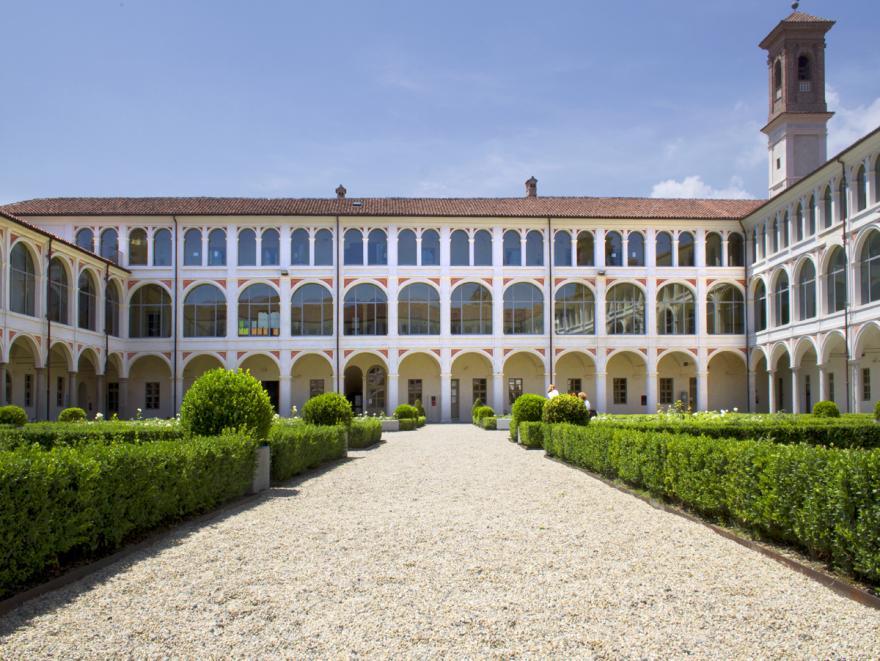 Facciata della sede universitaria di Savigliano