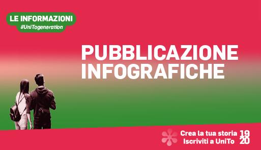 Grafica della campagna immatricolazioni 19-20 con scritta INFO
