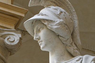 Statua della Minerva al Rettorato